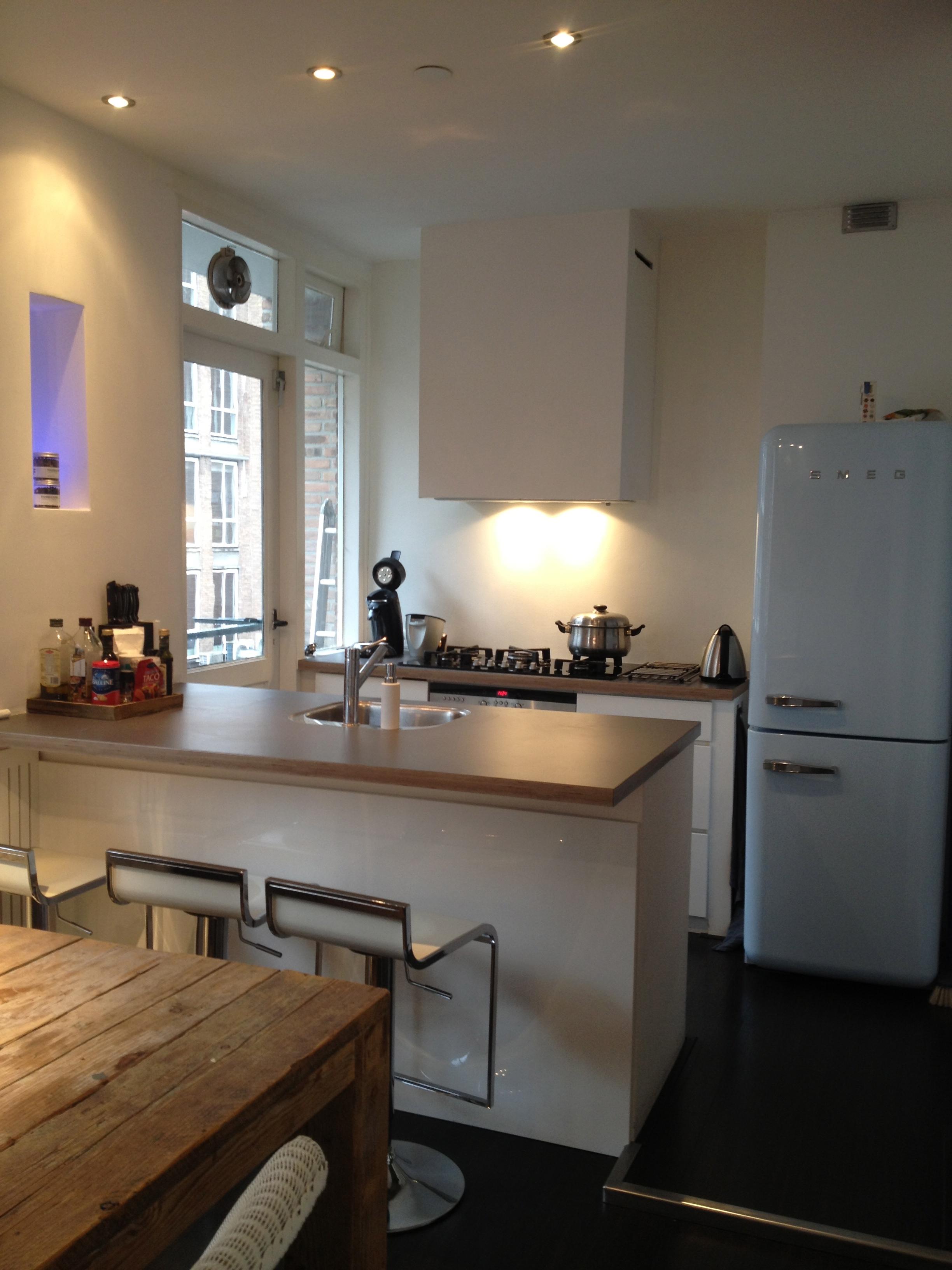 Open Keuken Met Bar : Renovatie Pannekoekstraat Rotterdam – Aannemersbedrijf Joh. Visser