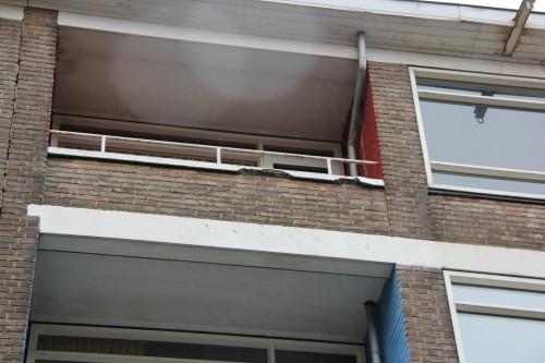 Onderhoud - beton werkzaamheden - Halstraat Rotterdam - 03 - vooraf