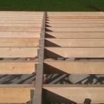 Schuur bouwen - Hout geraamte - 06 - dak