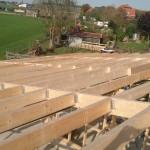 Schuur bouwen - Hout geraamte - 07 - dak